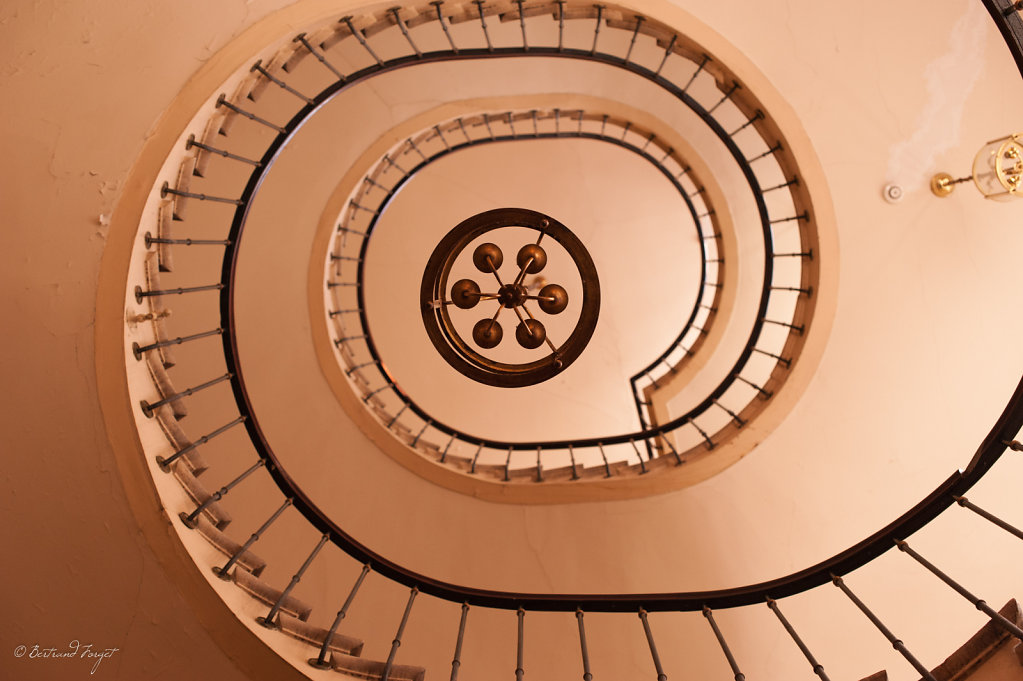 Escalier de la galerie Vivienne