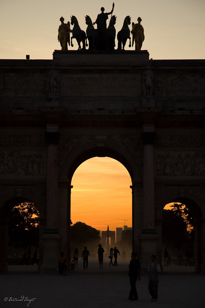 Arc de Triomphe du Carrousel - Paris