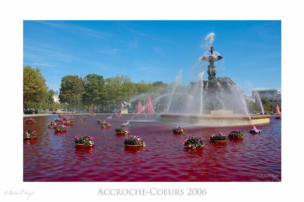 Fontaine du Mail aux Accroche-Coeurs 2006 - Angers