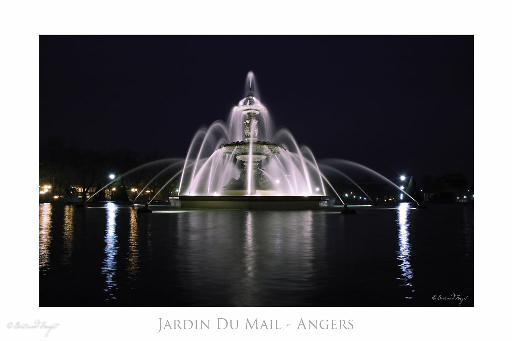 Fontaine du Mail - Angers