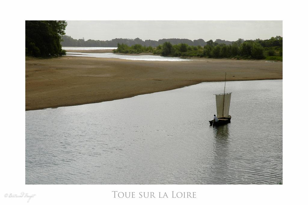 Toue sur la Loire